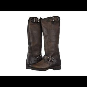 Frye Veronica Slouch Stone Washed Oil Vintage 8.5